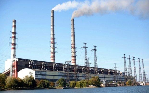 Блокада угля: еще одна украинская ТЭС прекратила работу