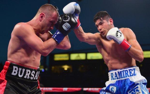 Бурсак проиграл чемпионский бой против Рамиреса