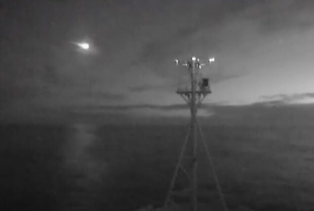 Вид з корабля RV Investigator, скріншот: YouTube