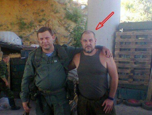 Олександр Доронін з ватажком терористів Олександром Захарченко, фото: Telegram/Анатолій Штірліц