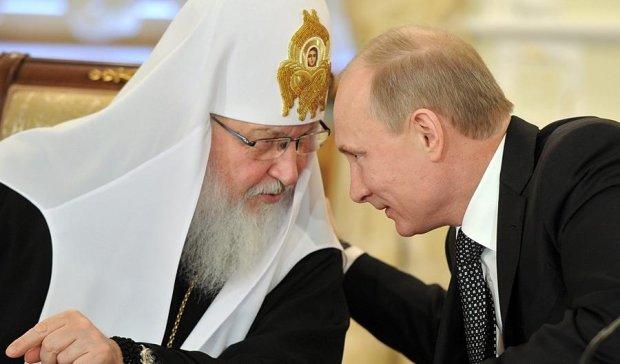 """Патріарх Кирило """"заблукав"""" у Росії (відео)"""