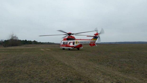 поисковый вертолет, источник национальная полиция