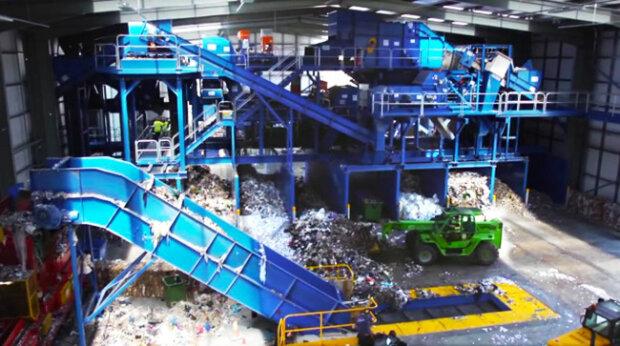 мусороперерабатывающий завод, скриншот