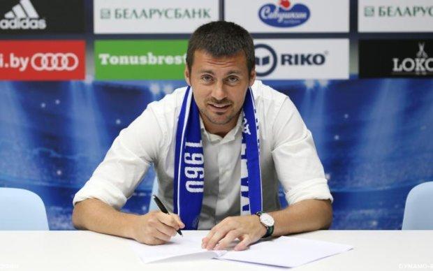 Мілевський повернувся в динамівську сім'ю
