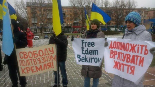 Денисова узнала, в каких условиях содержат тяжелобольного политзаключенного Бекирова