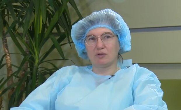 Ольга Голубовская, кадр из видео