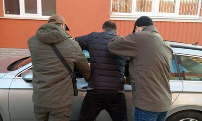 Затримання афериста на Харківщині, СБУ