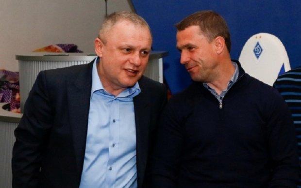 Президент Динамо планує продовжити контракт з Ребровим