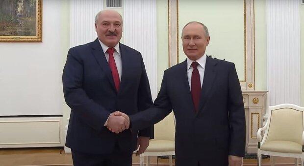 Путін і Лукашенко, скріншот: Youtube