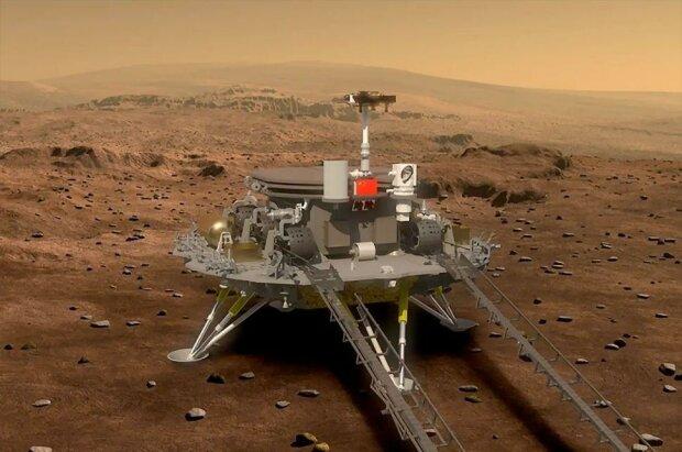 Китайская миссия на Марс, фото Telegram
