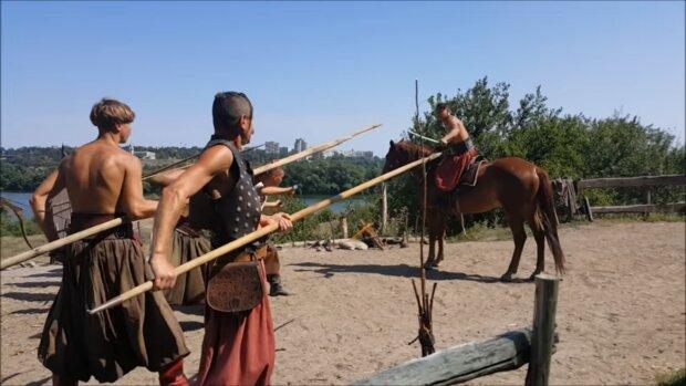 Козаки, скріншот із відео