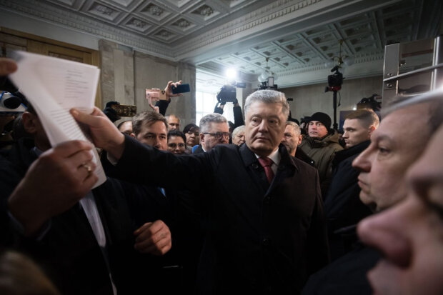 Петр Порошенко в ГБР, 5 канал