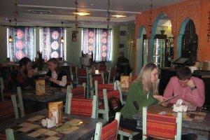 Скандал в запорожском кафе