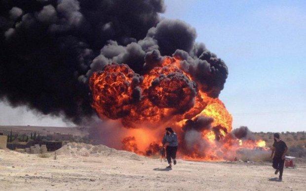 Сирию атаковал неизвестный самолет: десятки погибших