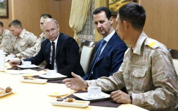 Путин отбирает хлеб у крымчан ради Асада