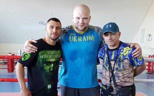Ломаченко провів відкрите тренування в Кривому Розі