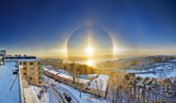 Аномальне світіння під Києвом потрапило на камеру: неймовірні кадри, буває лише у Заполяр'ї