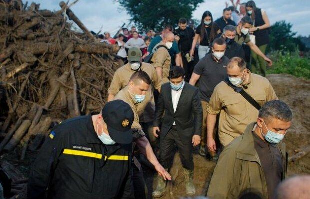 Візит Зеленського в Ланчин, фото: hromadske.ua
