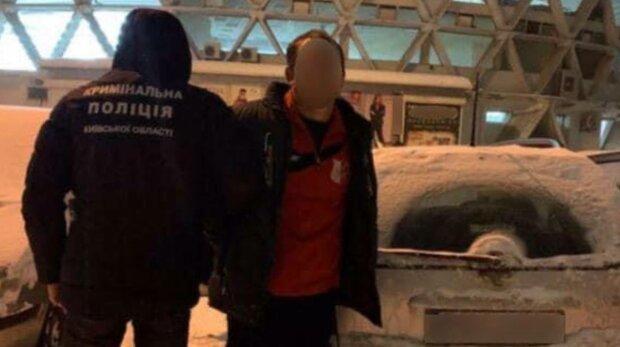 Полиция заджержала афериста, фото: Криминальная полиция