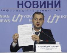"""Голови політичної партії """"Розумна сила"""" Олександр Савченко"""