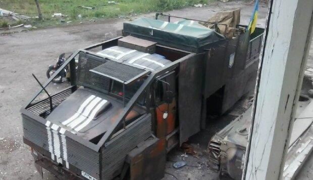 "Монстры бойцов бригады ""Холодный Яр"", фото: Facebook"