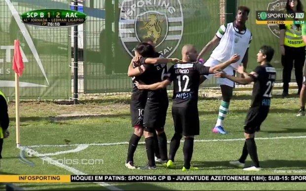 У Португалії запасний гравець привіз пенальті у власні ворота