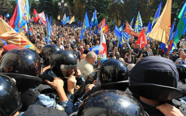Штурм Рады организовали люди из АП, - источник