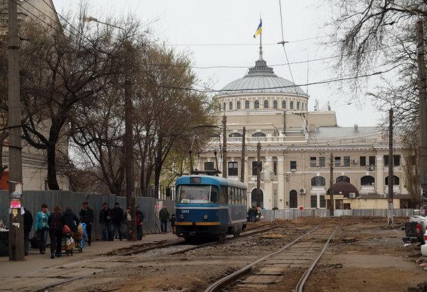 на Старосінній площі в Одесі