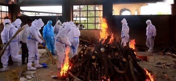 Коронавірус в Індії, фото: скріншот з відео