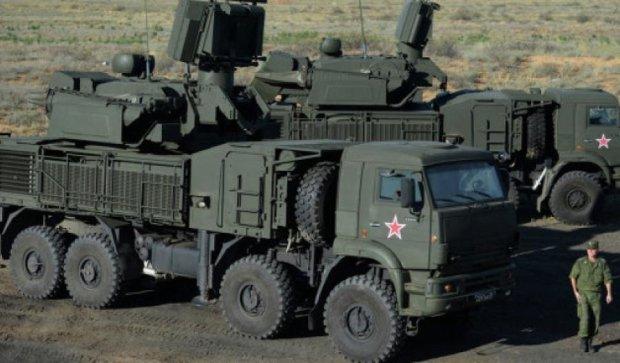 Российские силы воздушной обороны появились на границе с Украиной