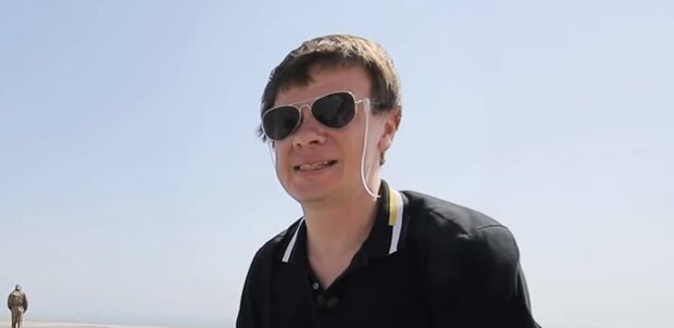 Дмитрий Комаров, скриншот: Youtube