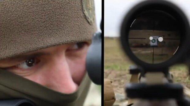 Снайпер, фото: скриншот из видео МВД