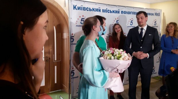 Олексій Гончарук на презентації єМалятко, фото: znaj.ua