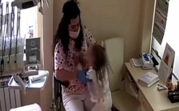Стоматолог Инна Кравчук, скриншот: Facebook