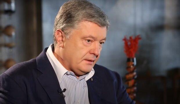 Петро Порошенко, скірншот із відео