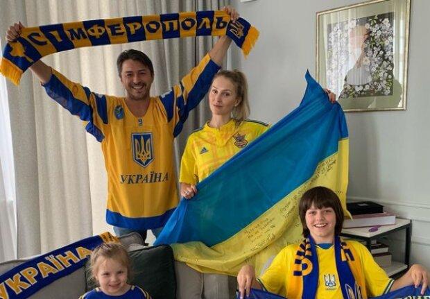 Сергій Притула з сім'єю, фото з Instagram