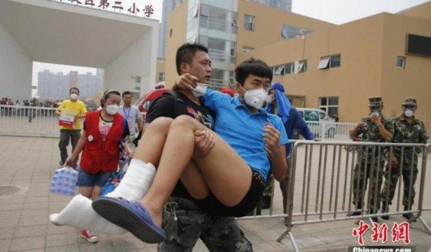 В Китае из-за паники после взрыва заблокировали соцсети