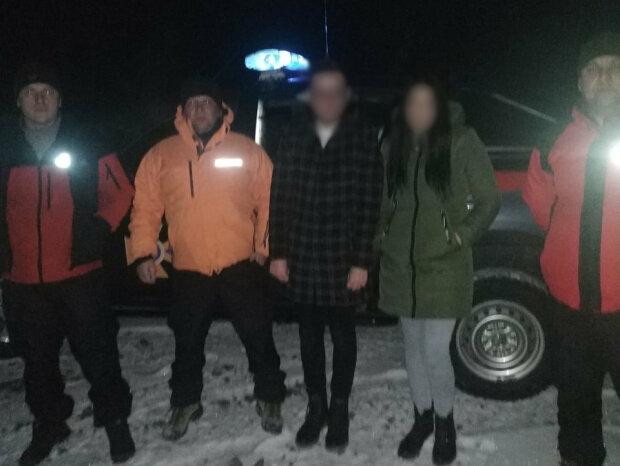 Заблудившиеся туристы: Facebook ГСЧС Украины