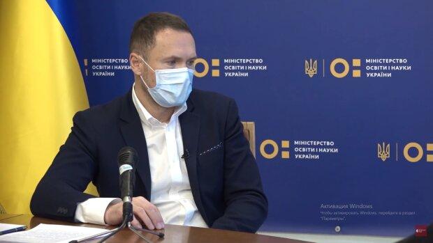 Сергій Шкарлет, скріншот відео