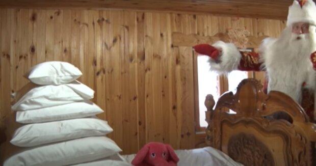 Как написать письмо Деду Морозу,  скрин - YouTube