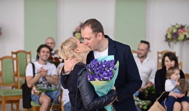 Актриса Ірма Вітовська вийшла заміж за бізнесмена