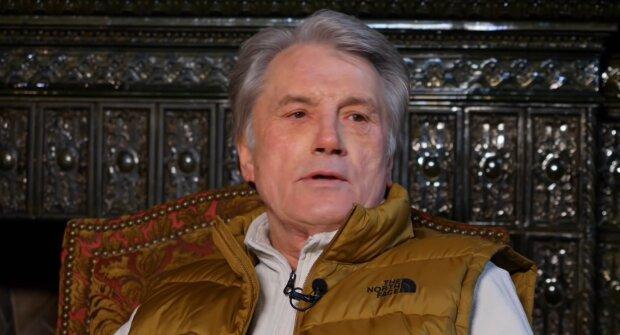 Віктор Ющенко, скрыншот із відео