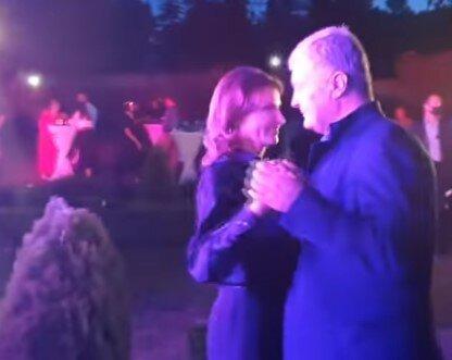 Петро і Марина Порошенко, скріншот з відео