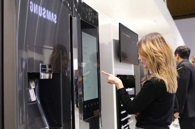 Розумний холодильник Samsung
