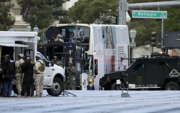 В Лас-Вегасе расстреляли мужчину у люксового отеля