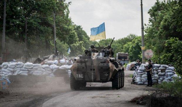 За сутки в Донбассе погиб один военный
