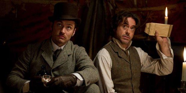 Шерлок Холмс и Ватсон