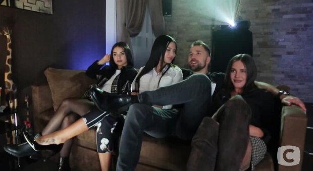 """Макс на побаченні з учасницями """"Холостяк 10"""", фото СТБ"""