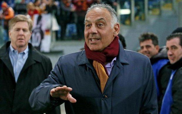 Дострибався: президент Роми після перемоги над Барселоною заплатить штраф