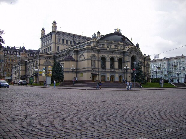 Национальная опера Украины им. Т. Г. Шевченко, фото Wikimedia Commons